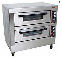 Deck Oven - 2 trays per deck