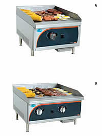 Flat Top GAS Grillers