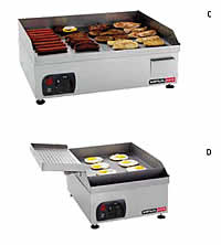Flat Top Grills - Electric