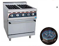 Gas STOVEs WITH Electric Oven