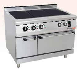 Stove electric oven
